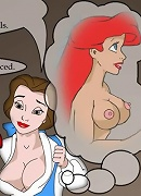 Shy Ariel making hole friction