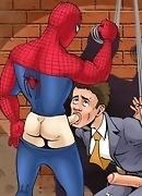 Spider-Man fucks villains